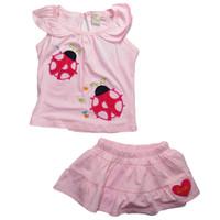 Bộ áo váy con bọ hồng BH158 BEVADOCHOI