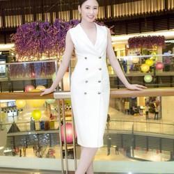 Đầm vest đẹp sang trọng thiết kế dài qua gối DM5