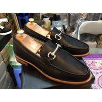 Giày lười da bò thật cao cấp G108