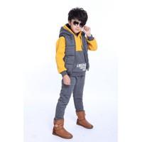 Bộ áo và quần ghile bé trai 4-16 tuổi hàng nhập cao cấp V034