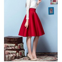 Chân váy xòe phong cách cổ điển - V 43