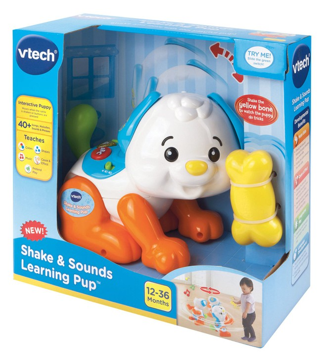 Chú chó tinh nghịch - Shake and Sounds Learning Pup VTech USA 1