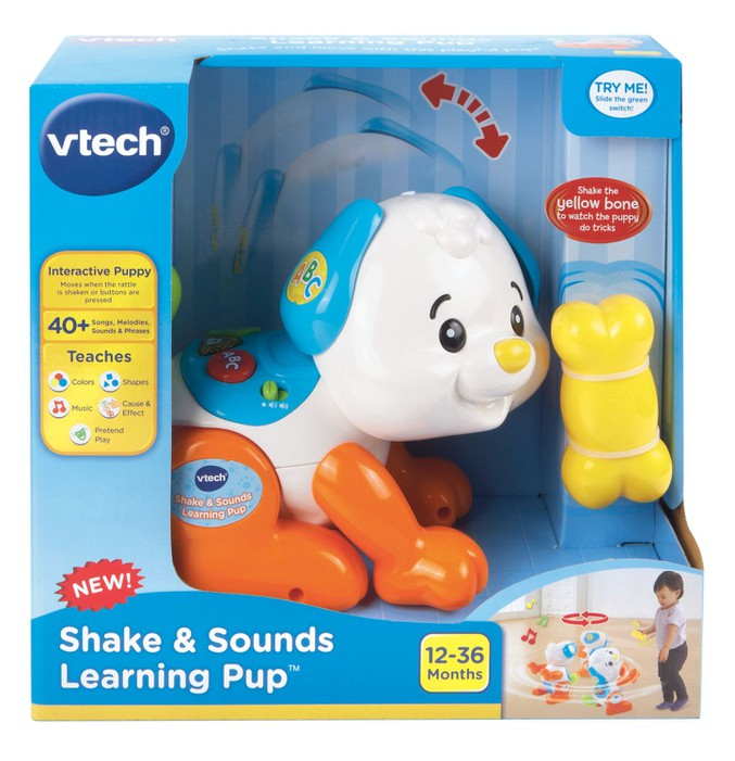 Chú chó tinh nghịch - Shake and Sounds Learning Pup VTech USA 3