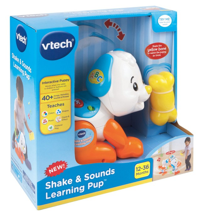 Chú chó tinh nghịch - Shake and Sounds Learning Pup VTech USA 4