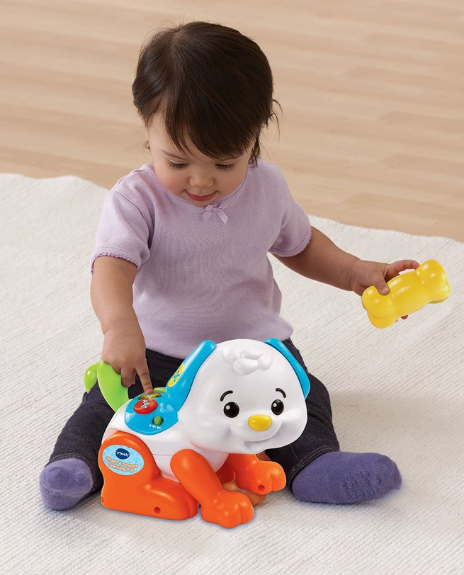 Chú chó tinh nghịch - Shake and Sounds Learning Pup VTech USA 7