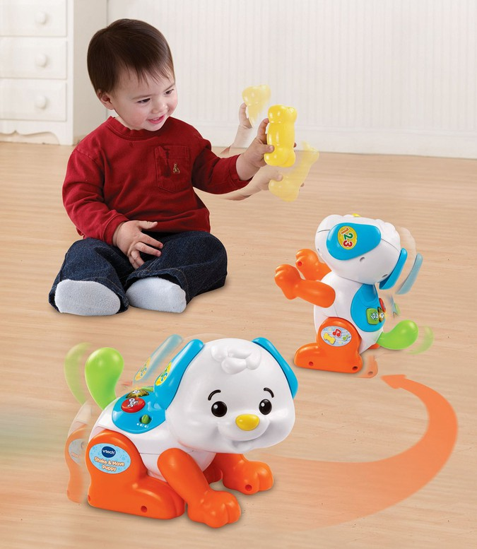 Chú chó tinh nghịch - Shake and Sounds Learning Pup VTech USA 8