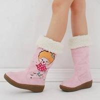 Giày boot bé gái cực xinh