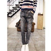 Quần jeans lưng thun túi xéo Mã: ND0463