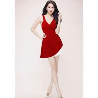 Đầm đỏ Ngọc Trinh 834