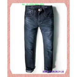QUẦN JEAN ĐEN ĐƠN GIẢN QJ_09 jean màu đen