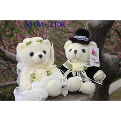 [Hàng Nhập] Gấu bông cô dâu chú rể