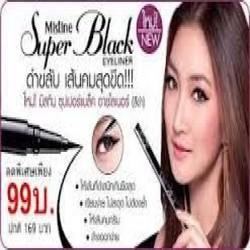Bút kẻ mắt dạ Mistine Super Black