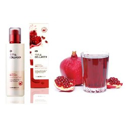 Nước hoa hồng dưỡng trắng lựu và collagen The Face Shop - 160ml