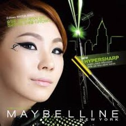 Bút kẻ mắt nước Maybelline Hyper Sharp Eyeliner 24h không lem