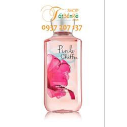 Sữa tắm dưỡng da Pink Chiffon Bath and Body Works 295ml