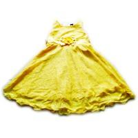 Đầm ren vàng  DRENVANG02-245
