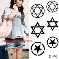 Tattoo - hình xăm dán D-46