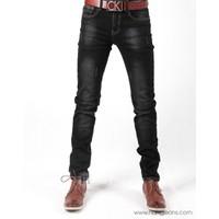 Hằng Jeans - Quần jeans nam màu chì mài 15K2019