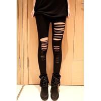 quần legging rách cá tính