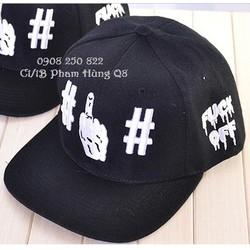 Mũ nón hip hop snapback Fuck Off hàng nhập cung cấp sĩ lẻ