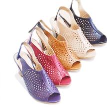 Giày Aldo 8 phân Prism đục lỗ xuất khẩu chất da cực thích