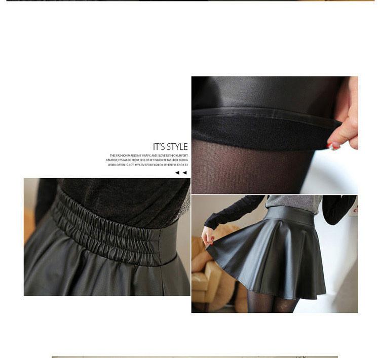 Hình ảnh Chân váy da xòe xinh xắn 12170 3