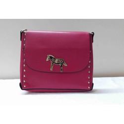 Túi đeo vai màu hồng JB-068