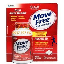 Hỗ trợ và điều trị xương khớp Glucosamine Schiff Move Free 170 viên