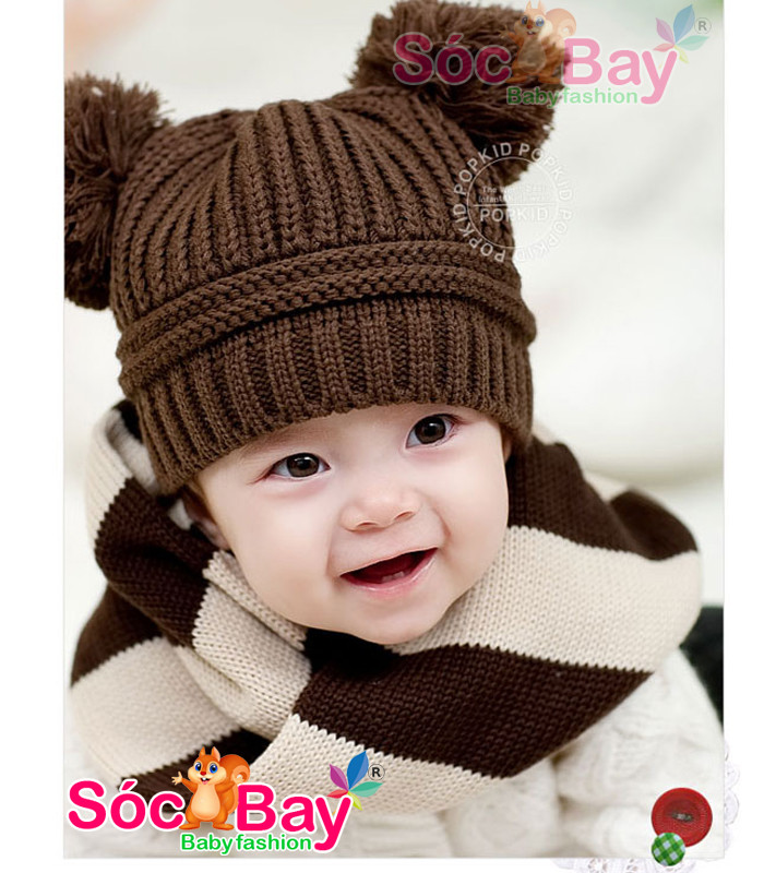 Hình ảnh Nón Len Mickey dành cho bé sơ sinh từ 03 tháng - 3 tuổi 2