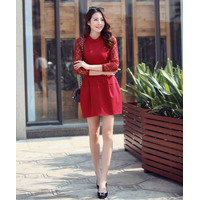 Hàng nhập cao cấp: Đầm suông sang trọng mới nhất 2015 IT36