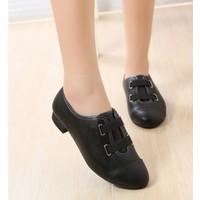 Giày oxford bệ thun đôi