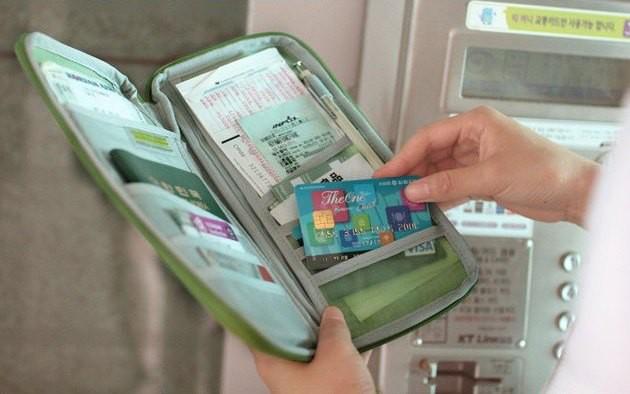 Ví passport 11 ngăn kiểu Korea 3