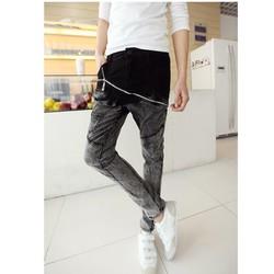 Quần jeans chuyển màu dây kéo Mã: ND0489