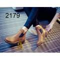 Giày boot nữ - Giày boot da - Giày boot chất da 2 lớp phối thu