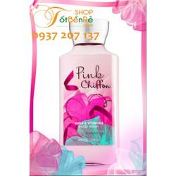 Sữa Dưỡng Thể Pink chiffon Bath and Body Works 236ml