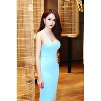 Váy 2 dây đẹp thiết kế ôm sát body như Hương Giang #220