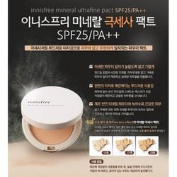 Phấn phủ siêu mịn Mineral Ultrafine Pact SPF25+