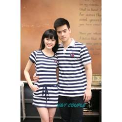 Áo Váy Cặp Đôi Đẹp AD10104 Set 2 áo