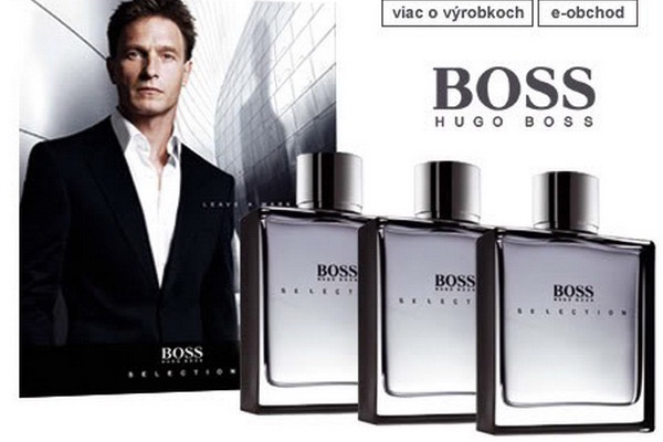 Nước hoa Boss Selection