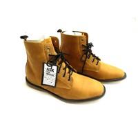 Giày Boot ASK Da Bò Chính Hãng VNXK