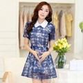 Mã số 580146 - Váy xinh xòe ren hoa cao cấp