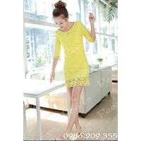 Váy ren xinh ms580147