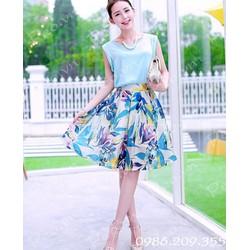 Mã số 580220 - Xét bộ váy và áo xinh tươi
