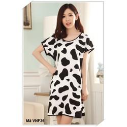 Váy ngủ free size với nhiều hình ngộ nghĩnh VNF36