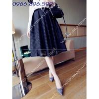 Chân váy dài thời trang, sành điệu ms 80234