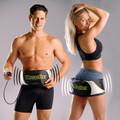 Đai mát xa bụng Vibroaction, đai massage giảm mỡ bụng