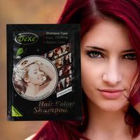 Combo 4 gối Thuốc nhuộm tóc dạng dầu gội màu đỏ bordeaux - Anh quốc