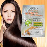 Combo 4 gói thuốc nhuộm tóc dạng dầu gội màu nâu Bessie