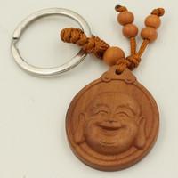 Móc chìa khóa đầu tượng Phật di lặc