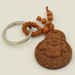 Móc chìa khóa phong thủy tượng Phật di lặc